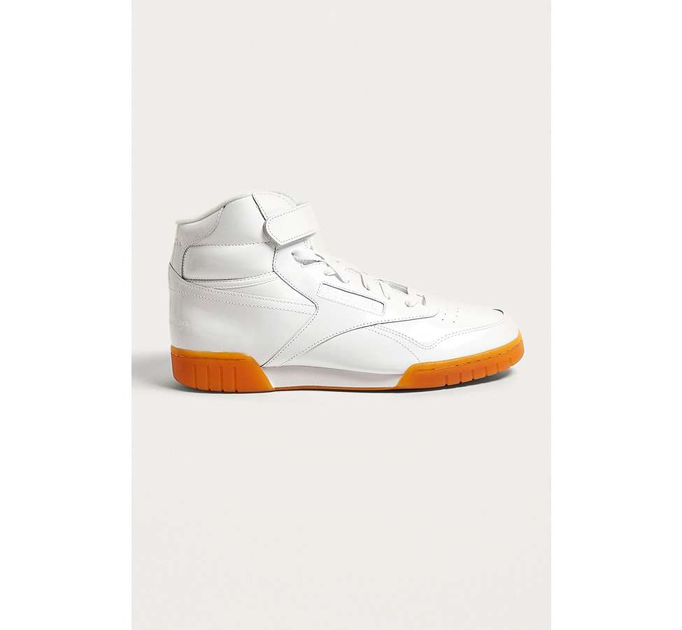 Slide View: 1: Reebok X Opening Ceremony OC Ex-O-Fit Hi Trainers