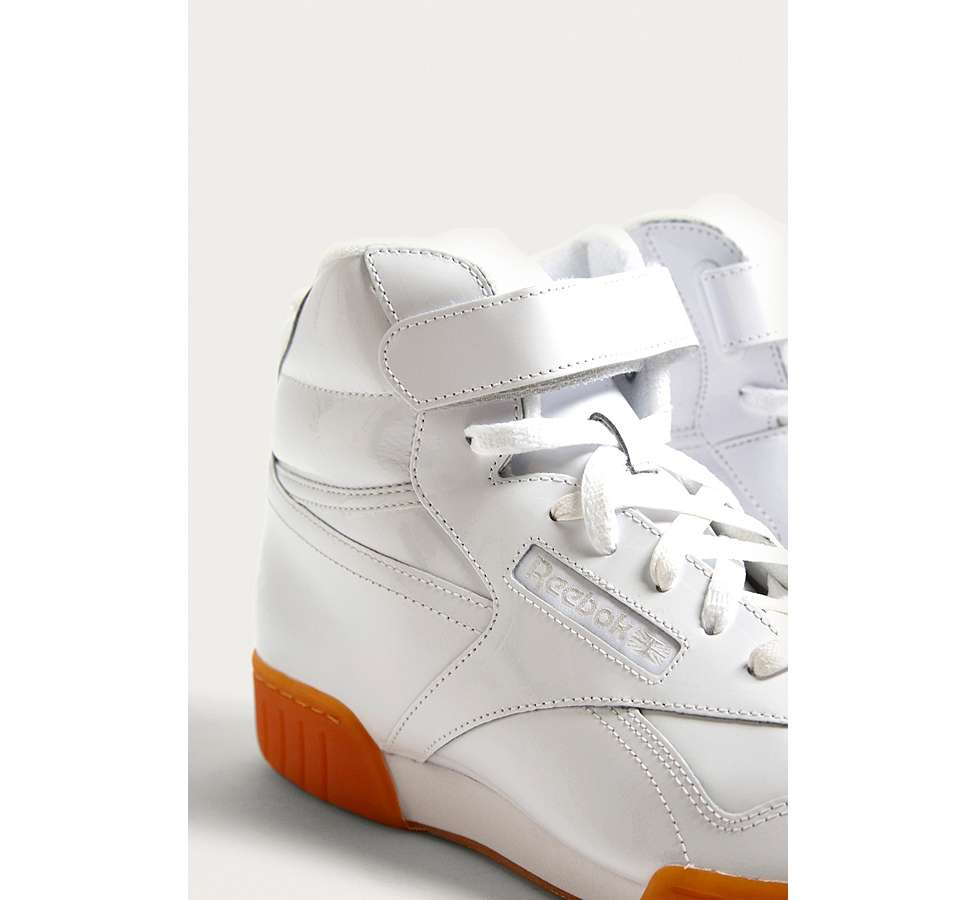 Slide View: 3: Reebok X Opening Ceremony OC Ex-O-Fit Hi Trainers