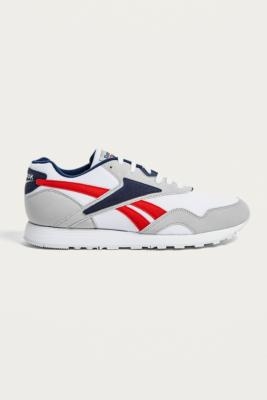 Reebok Rapide Skull Grey And White Trainers by Reebok