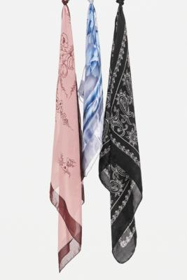 Urban Renewal Vintage Chiffon Headscarf - Assorted ALL at Urban Outfitters