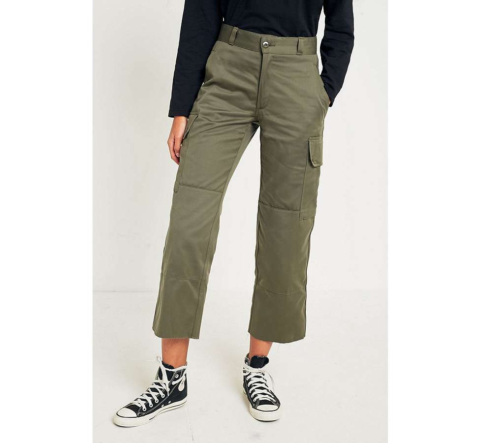 Slide View: 2: Urban Renewal Vintage Customised Military Cargo Trousers