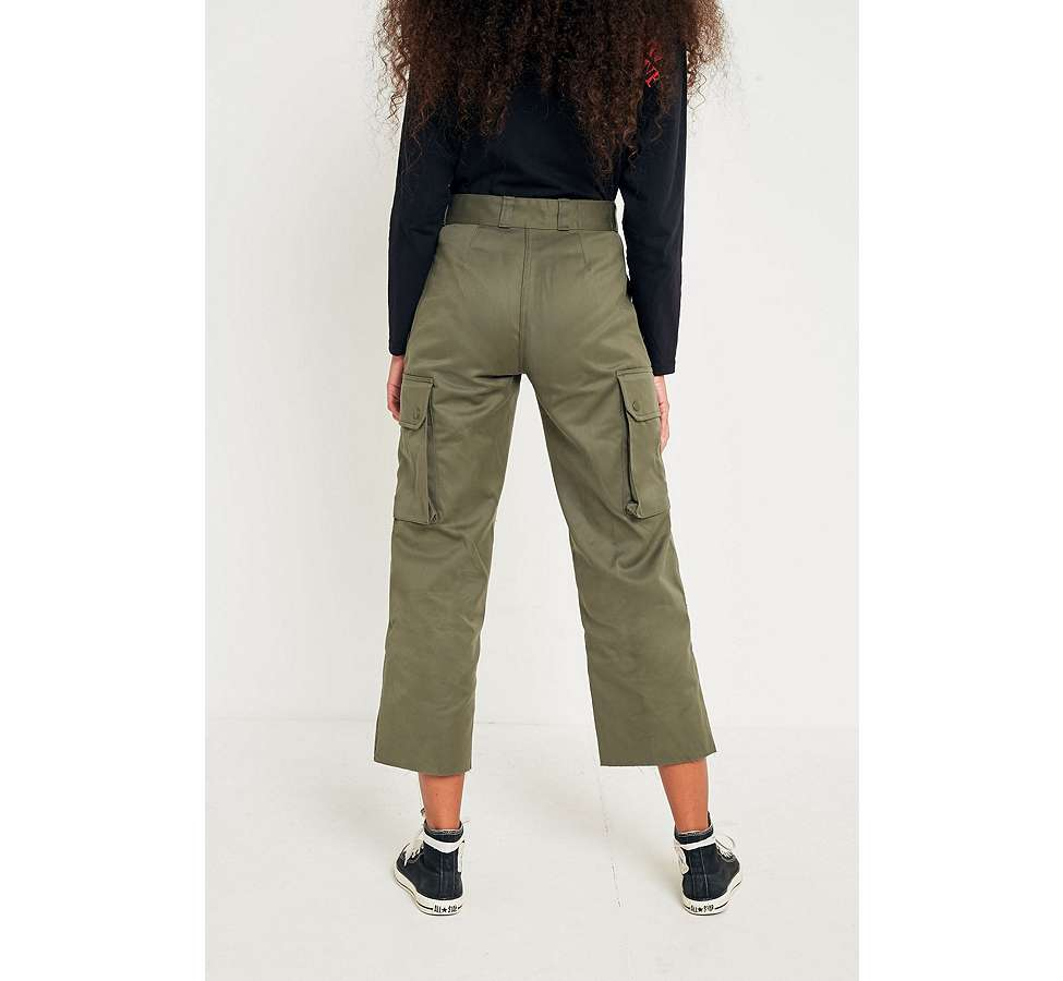 Slide View: 4: Urban Renewal Vintage Customised Military Cargo Trousers