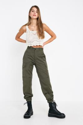 Urban Renewal Vintage Surplus Olive French Trousers by Generic