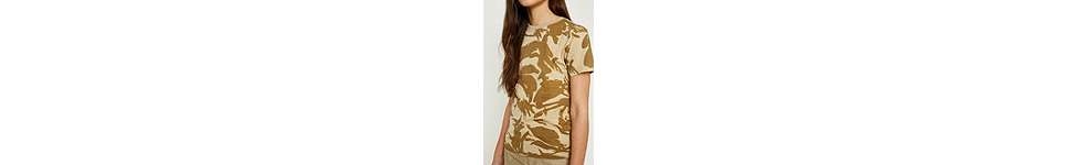 "Thumbnail View 2: Urban Renewal Vintage Surplus – T-Shirt ""British"" in Desert-Camouflage"
