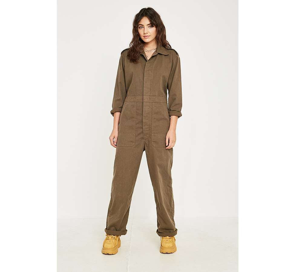 Slide View: 1: Urban Renewal Vintage Customised – Gebleichter Military-Coverall