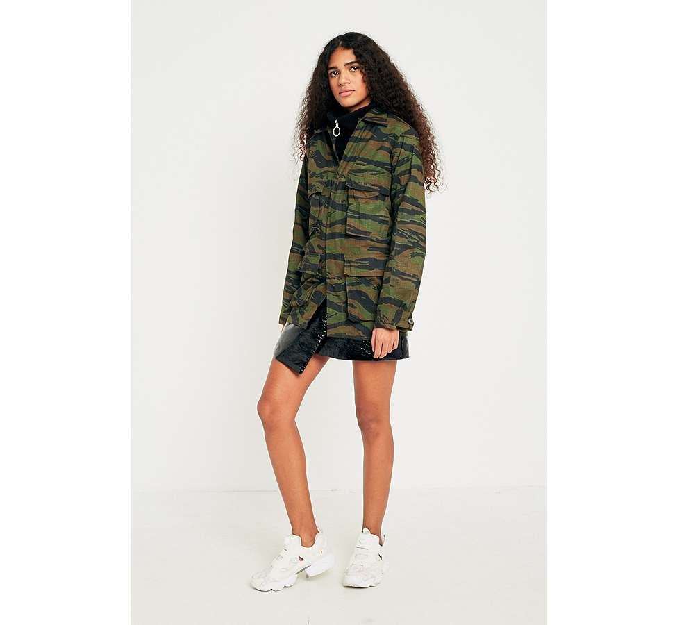 Slide View: 2: Urban Renewal Vintage Surplus Camo Jacket