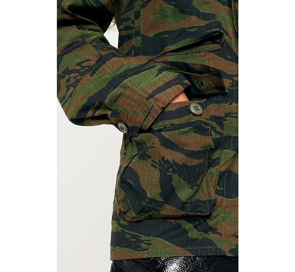 Slide View: 3: Urban Renewal Vintage Surplus Camo Jacket