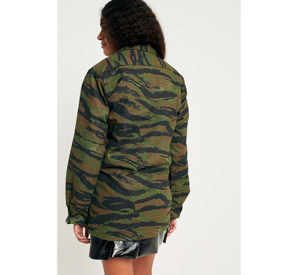Slide View: 4: Urban Renewal Vintage Surplus Camo Jacket
