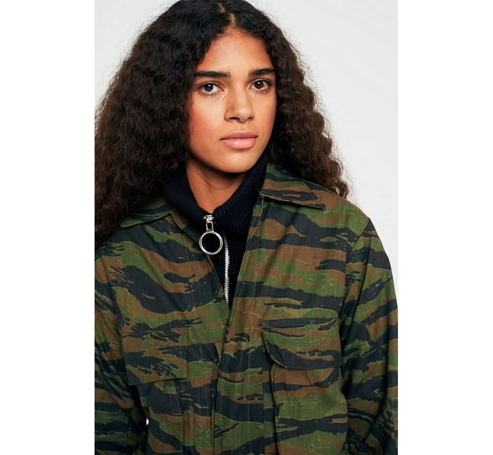 Slide View: 5: Urban Renewal Vintage Surplus Camo Jacket
