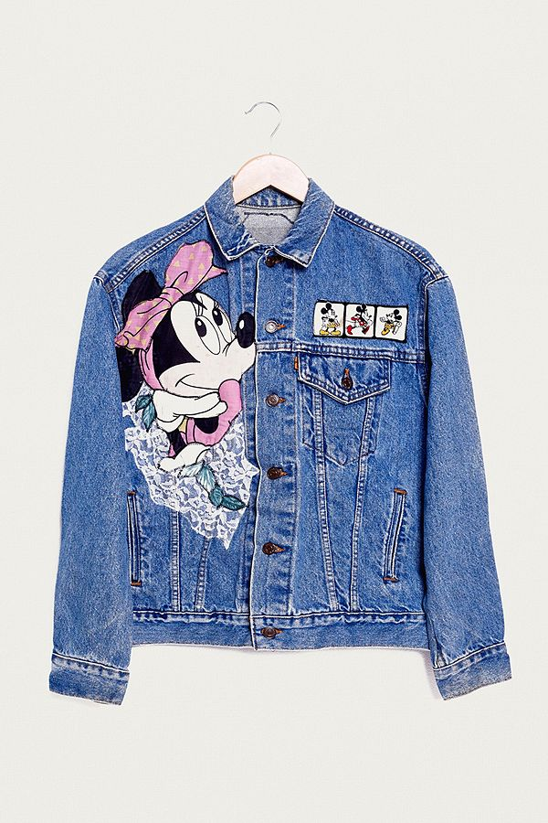 Renewal Urban Levi's One Kind Minnie Veste En Of Vintage A Jean dzzxErqUwS