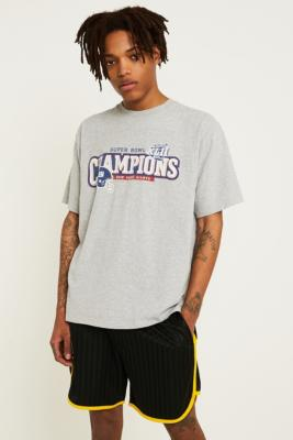 Urban Renewal Vintage Originals Usa Sports Grey T Shirt by Urban Renewal Vintage
