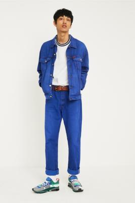 Urban Renewal Vintage Customised Overdyed Denim Jeans by Urban Renewal Vintage