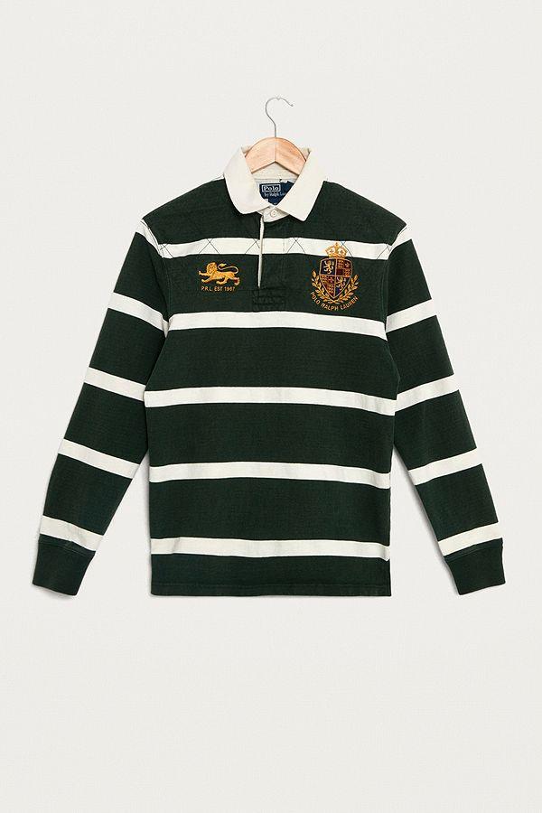 cd2b853a italy ralph lauren rugby shirt vintage kitchen c32d5 cb216