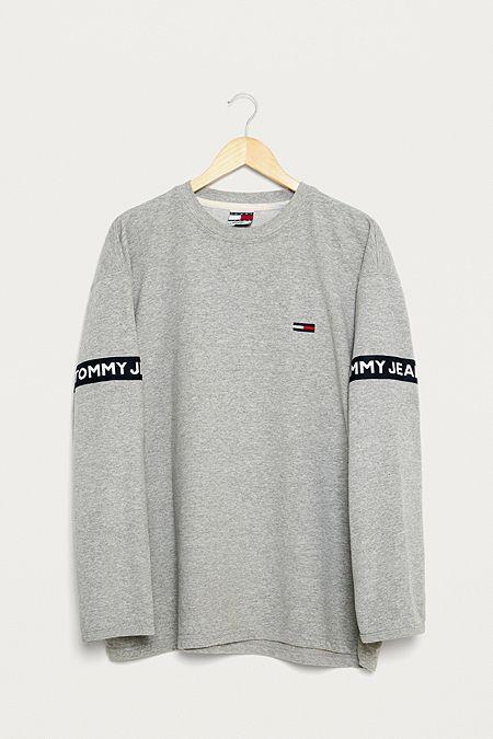8cf453a078a Urban Renewal Vintage One-of-a-Kind Tommy Hilfiger Striped Sweatshirt