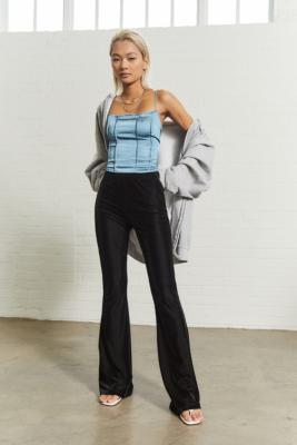 Pantalon évasé en maille fine - Urban Outfitters Archive - Modalova