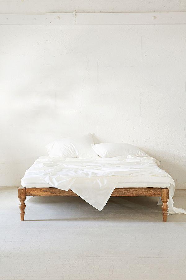 Slide View 2 Modern Boho Platform Bed Frame