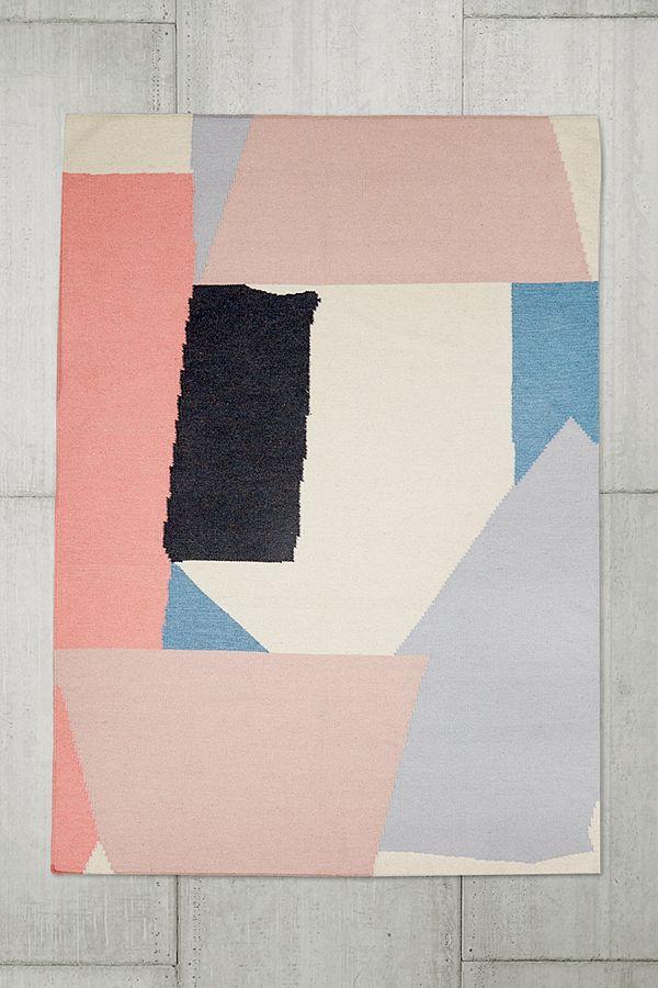 slide view 1 tapis moderne 5x7 motifs gomtriques - Tapis Moderne