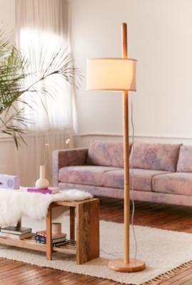 Image of Akio Adjustable Floor Lamp, Neutral