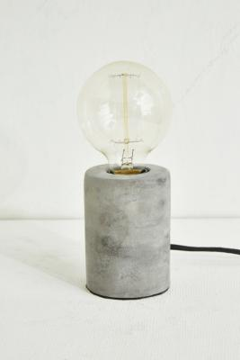 Round Concrete Table Lamp by Urban Outfitters