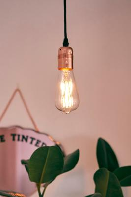 Plug In Filament Pendant Light by Urban Outfitters