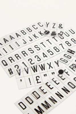 Image of A6 Light Box Letter Pack, Black