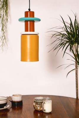 Colour Block Pendant Light by Urban Outfitters