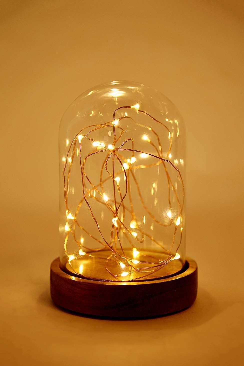 Lampe Sous Cloche mini lampe guirlande sous cloche | urban outfitters fr