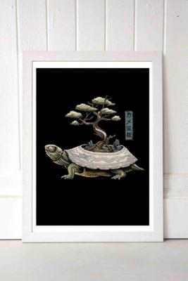 Vincent Trinidad The Legendary Kame Wall Art Print - White 1 at Urban Outfitters