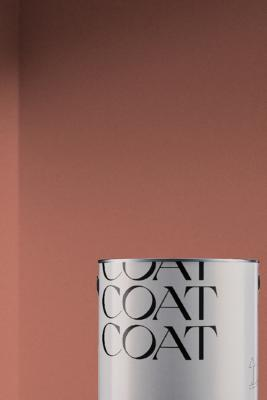 COAT Pastel Palette Paint - Red 1 at Urban Outfitters
