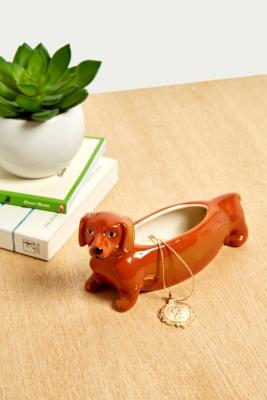 Sausage Dog Trinket Dish by Urban Outfitters