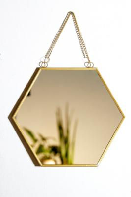 hexagonal-mirror by urban-outfitters
