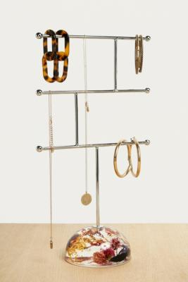 Pressed Flowers Jewellery Stand by Urban Outfitters