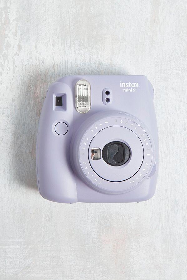 Slide View 1 Fujifilm InstaxTM Mini 9 Lavender Instant Camera