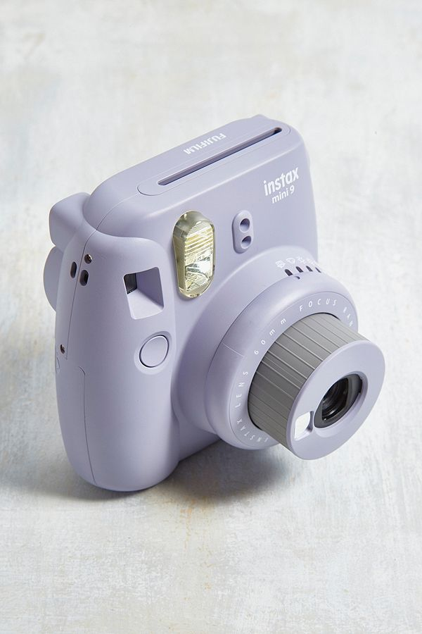 Slide View 3 Fujifilm InstaxTM Mini 9 Lavender Instant Camera