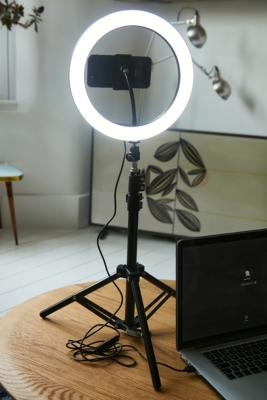 YOUSTAR LED Ring Light & Phone Holder with Tripod - Black ALL at Urban Outfitters