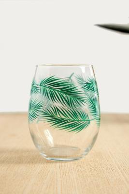 Palm Leaf Glass