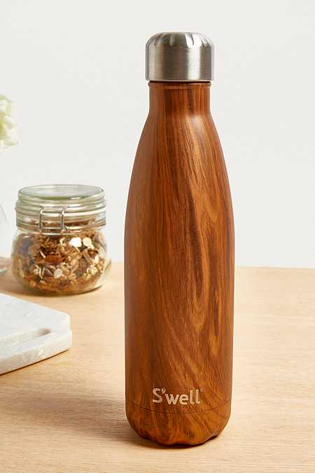 S'well 17-Oz Wood Print Water Bottle