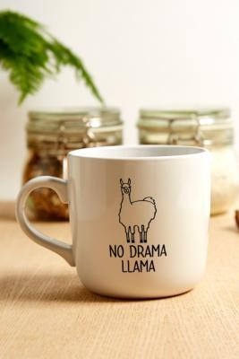 No Drama Llama Mug by Urban Outfitters