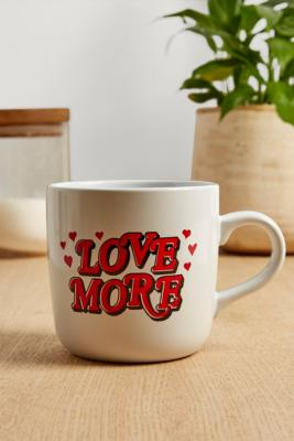 Love More Mug by Urban Outfitters