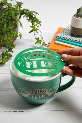 Central Perk Latte Mug & Stencil - Assorted ALL at Urban Outfitters