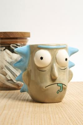 Ricky And Morty Face Mug by Urban Outfitters