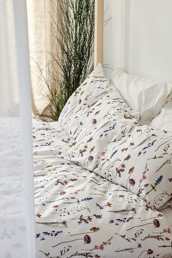 urban outfitters duvet covers Pressed Flowers Duvet Cover Set | Urban Outfitters UK urban outfitters duvet covers