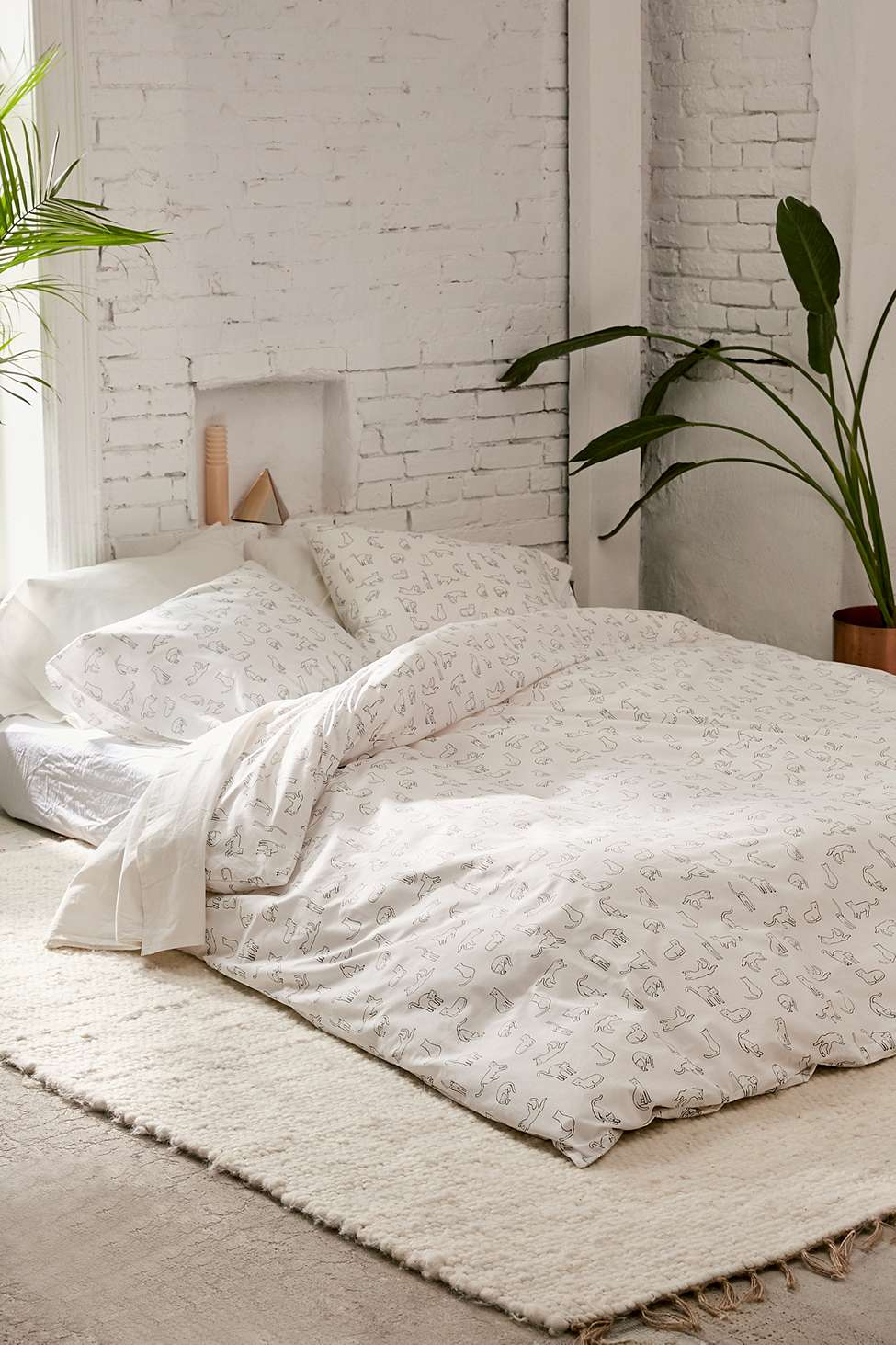 Cat Nap Duvet Cover Set Urban Outfitters Uk