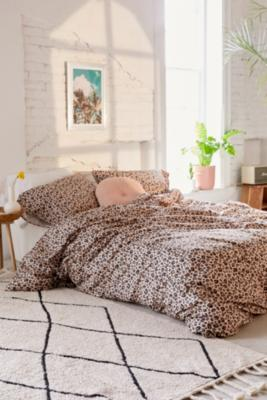 Leopard Print Duvet Cover Set by Urban Outfitters