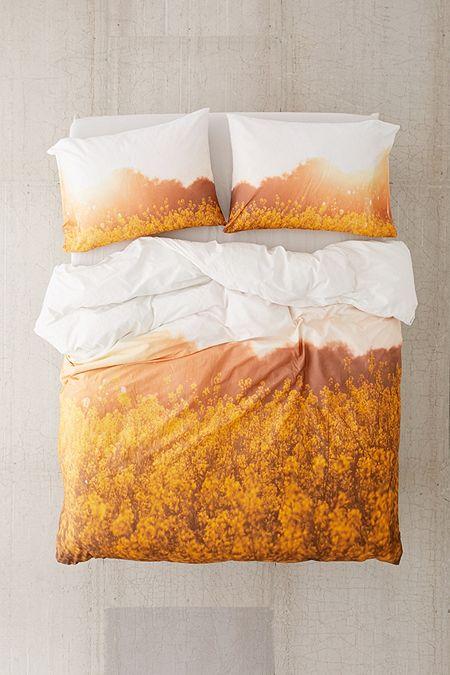 Orange Bettwasche Wohnaccessoires Urban Outfitters De