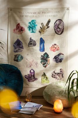 Gems And Crystals Tapestry by Urban Outfitters
