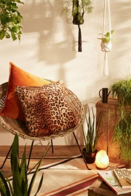 Faux Fur Leopard Cushion by Urban Outfitters