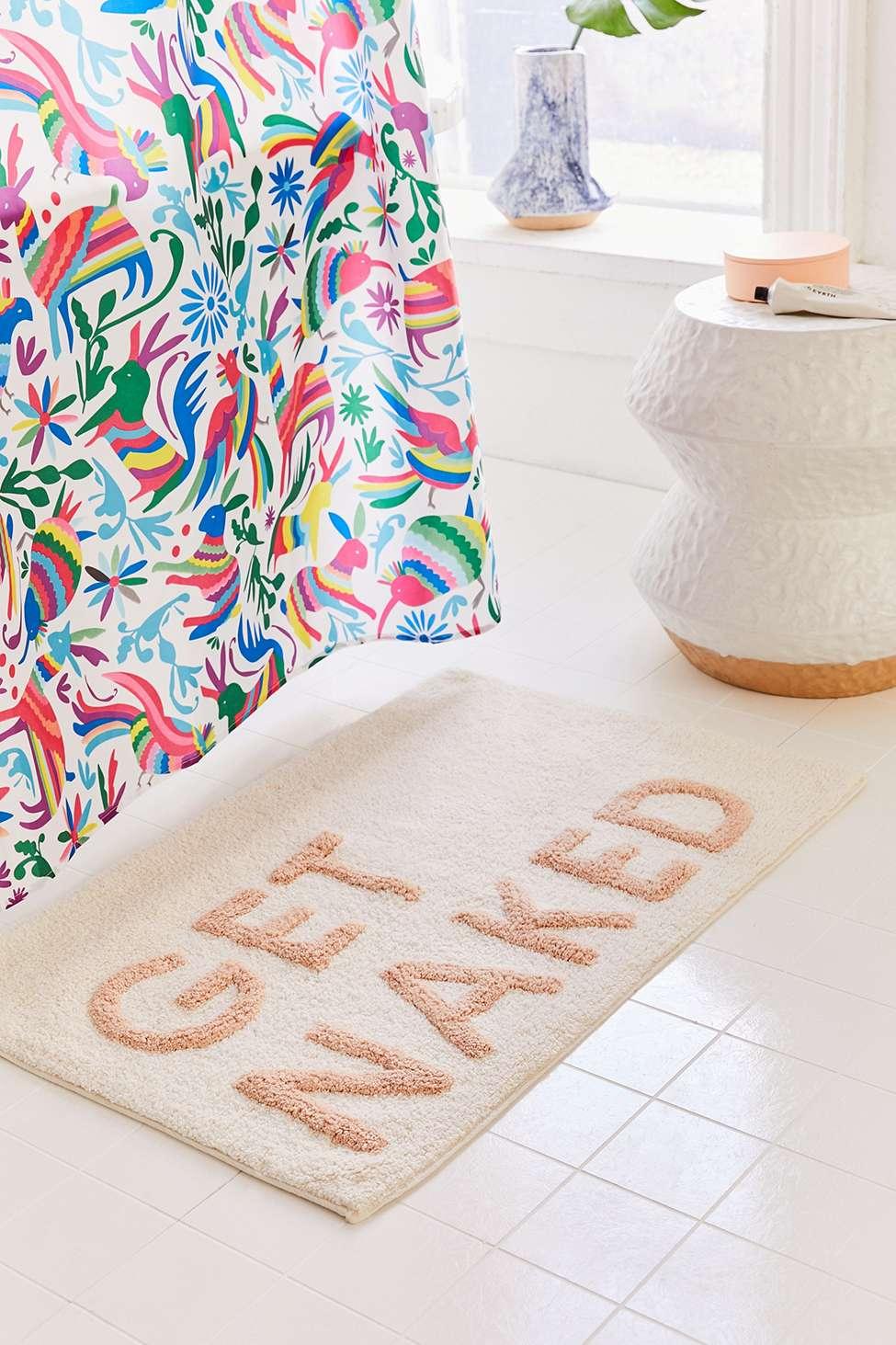 Slide View: 1: Get Naked Bath Mat