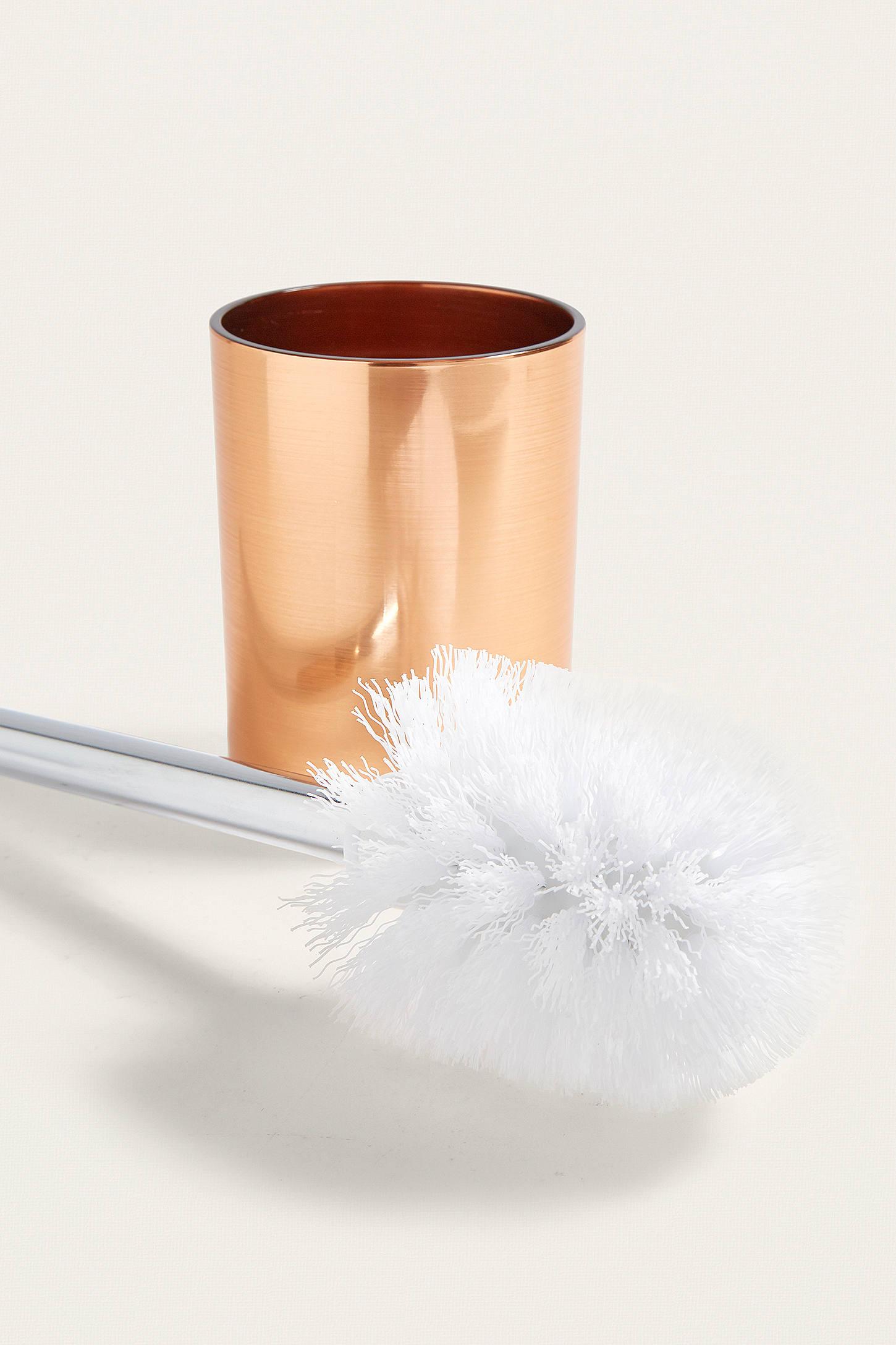 Accessoire Salle De Bain Cuivre ~ brosse de toilette et support en cuivre urban outfitters