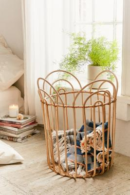 Gwendolyn Tan Laundry Hamper by Urban Outfitters